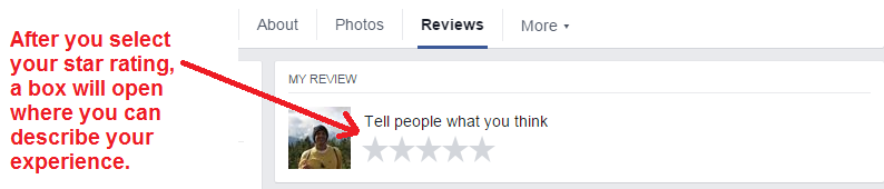 facebook review steps