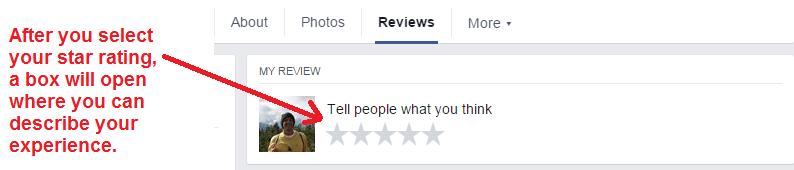 facebook review steps