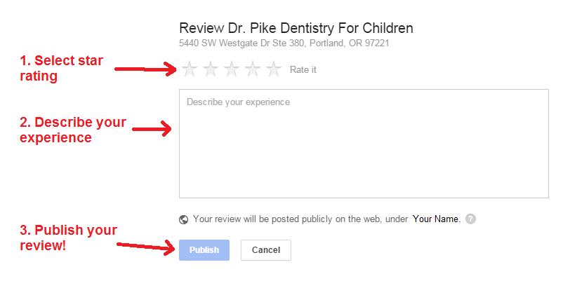 google plus review steps